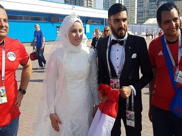 Египетские болельщики пожени…