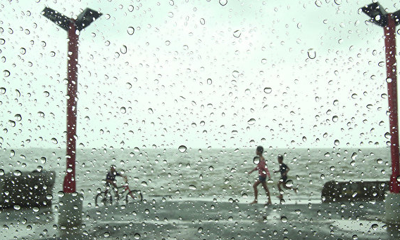 В Японии из-за приближения тайфуна объявлена эвакуация