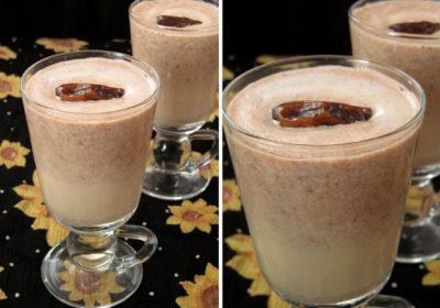 Хушаф - египетский молочный напиток с финиками