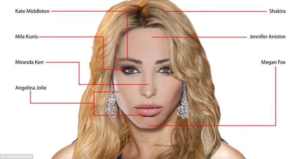 idealface01 Как воспринимают женскую красоту мужчины и женщины