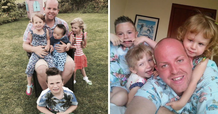 "Single Gay Guy Earns A ""Super Dad"" Title After Adopting 4 Disabled Children"
