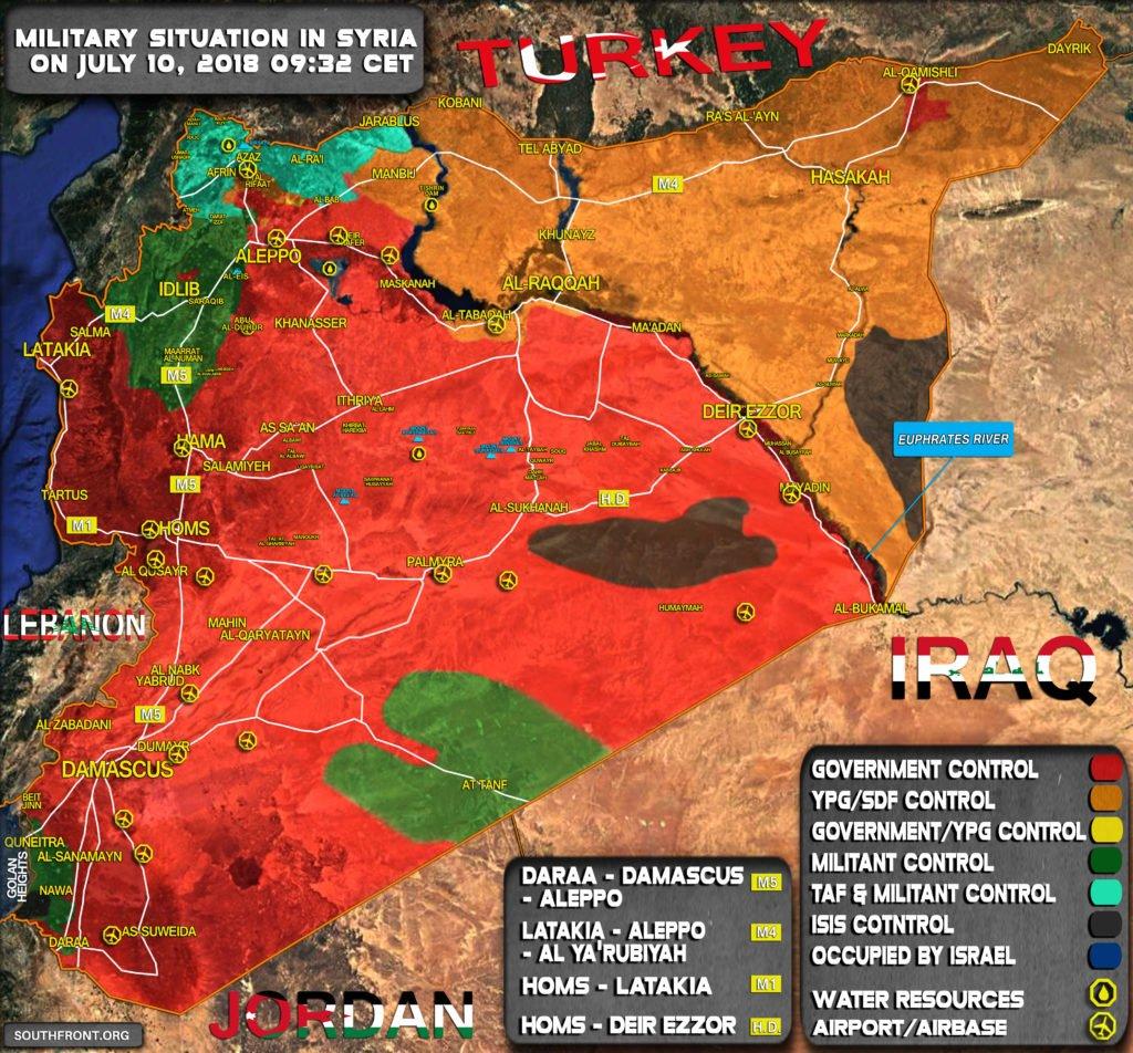 О законности действий России и США в Сирии