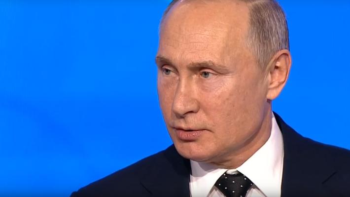 Путин поручил считать космос…