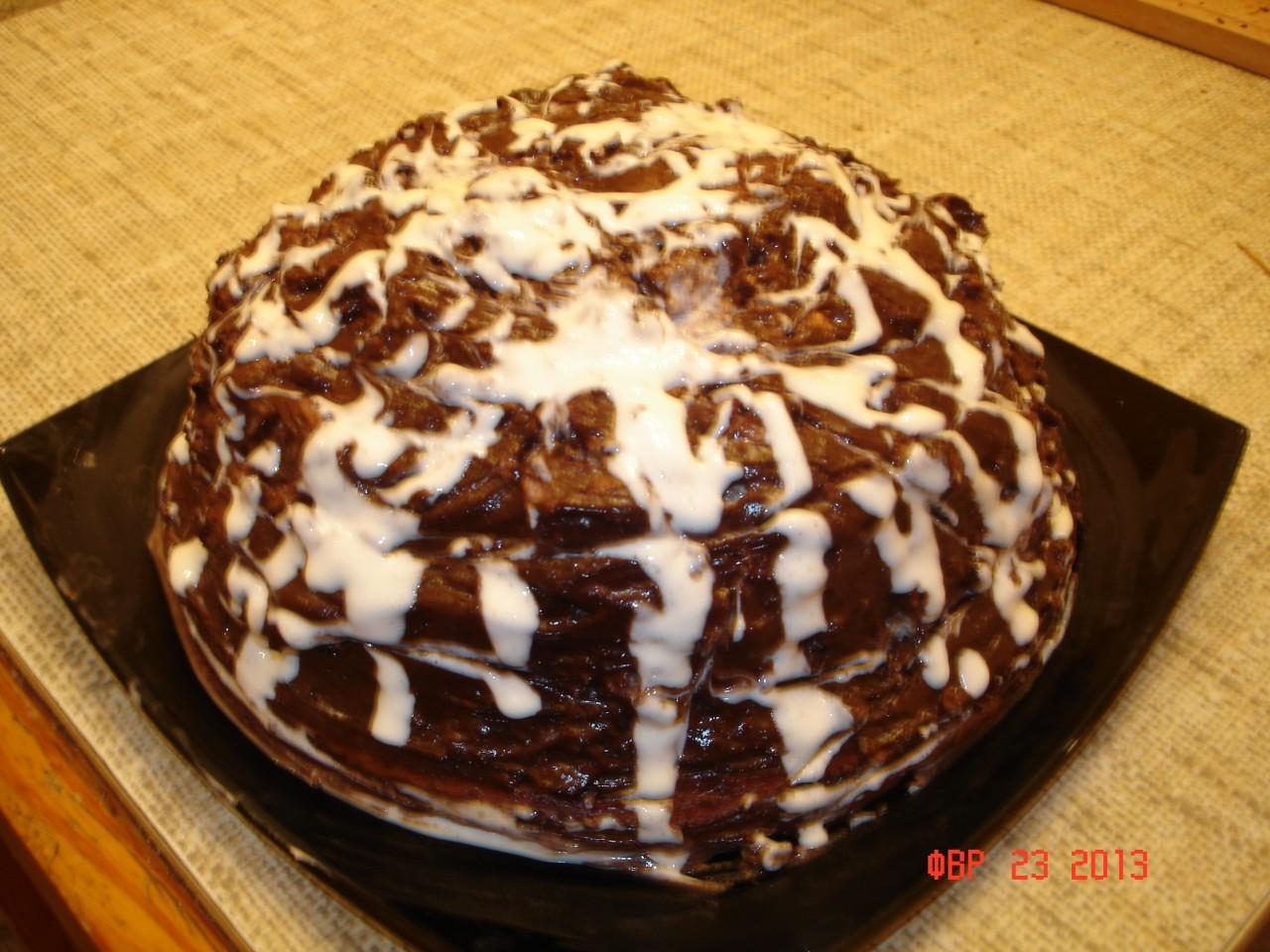 Торт негритенок рецепт пошагово