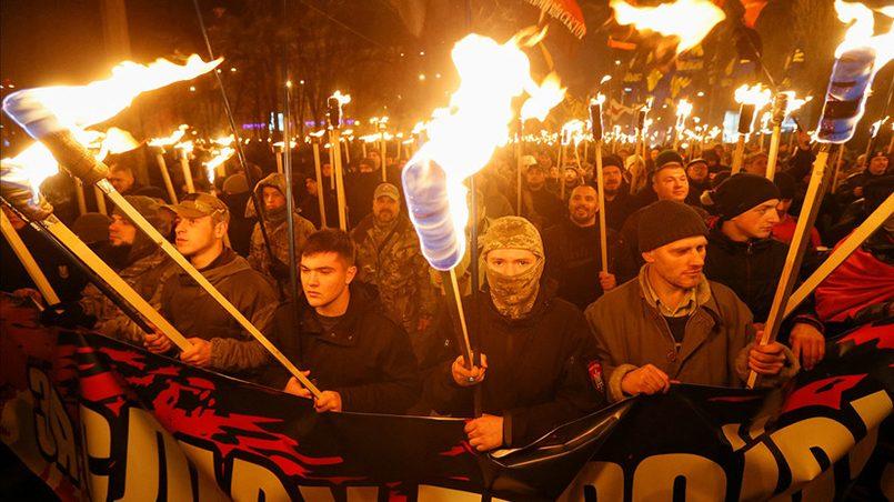 «Факельное шествие национали…