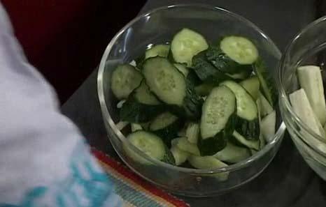Овощное ассорти в соусе
