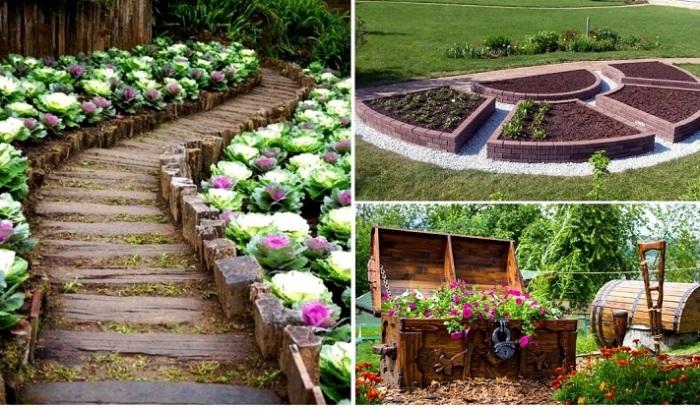 Декоративные огороды, которые вдохновят навести красоту на своем участке