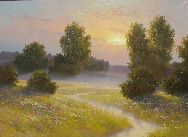 Хабиров Вячеслав. Раннее утро