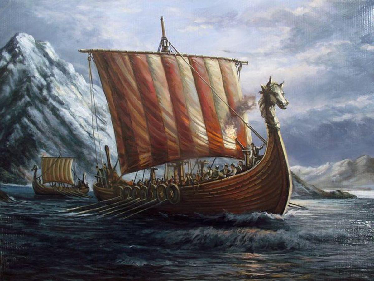 Как набеги викингов повлияли на производство дегтя