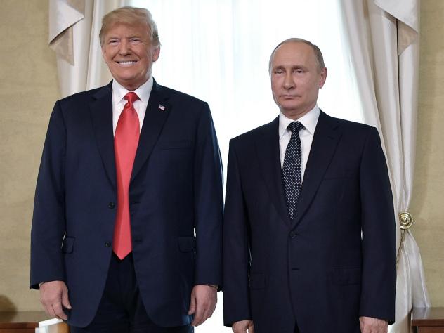 Трамп: Путин — сильный соперник, и «соперник — это комплимент»