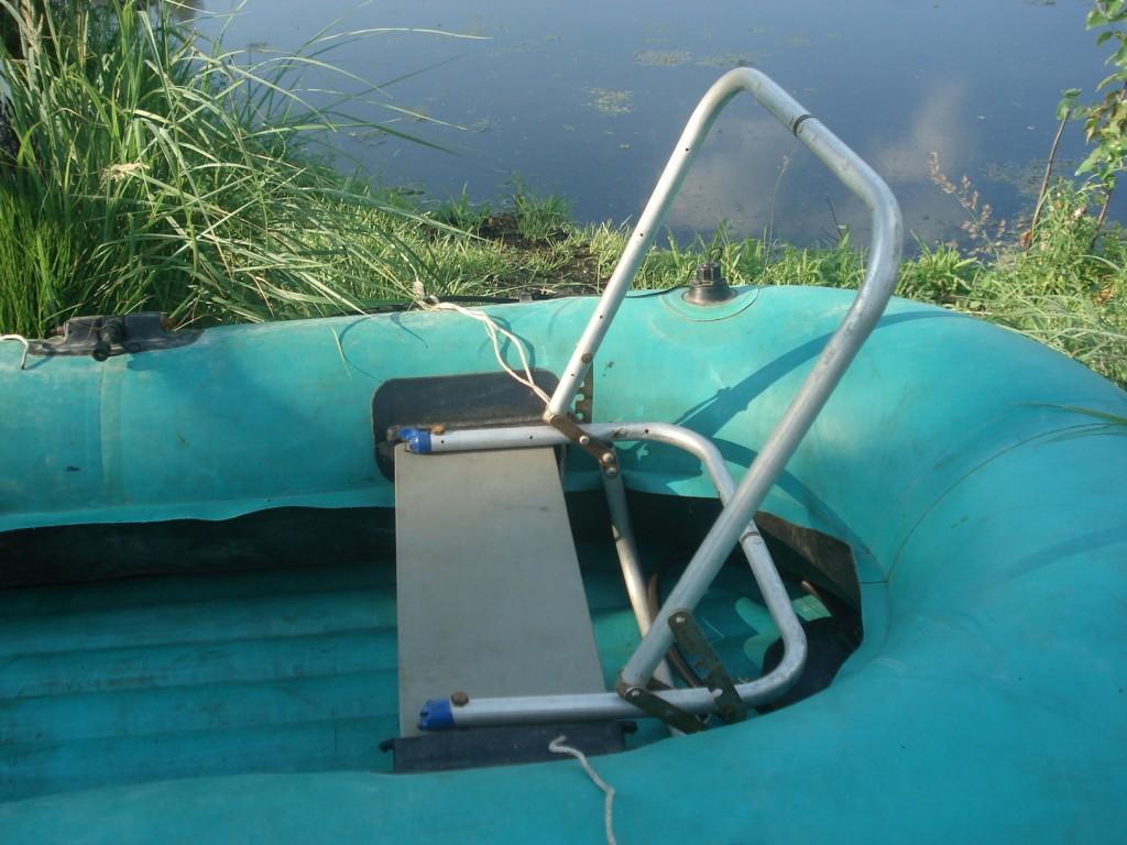 доработка резиновых лодок