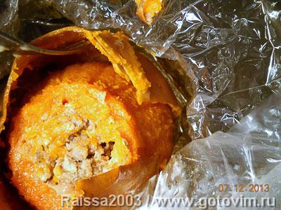 Холодная закуска из тыквы с мясом, Шаг 05