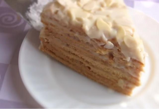 Торт «Парижский коктейль» с заварным кремом