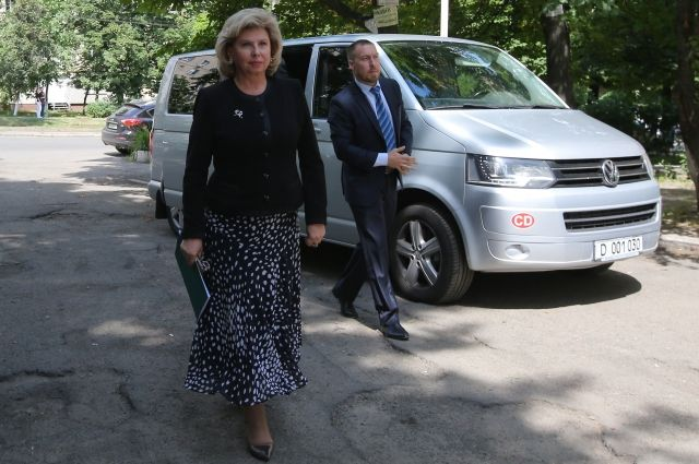 Москальковой не разрешили посетить россиянина Одинцова в СИЗО Киева
