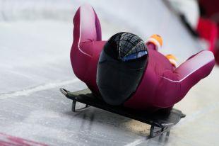 Скелетонист Трегубов на тренировочных заездах ОИ дважды занял 2-е место