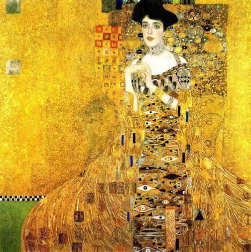 На фото изображена картина Густава климта.