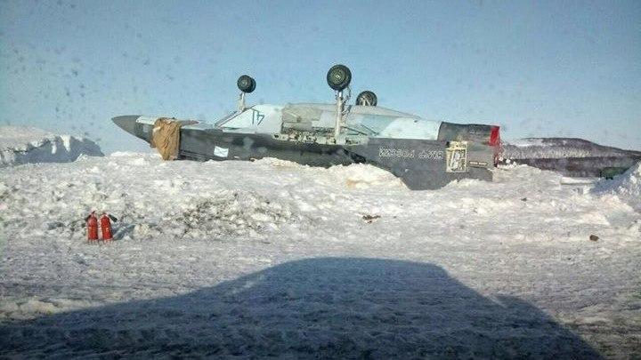 Авария корабельного истребителя МиГ-29К
