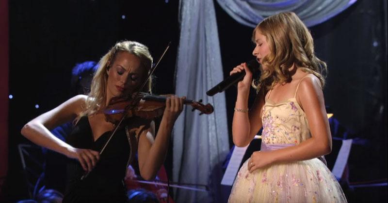 Девочка рискнула спеть лучшую песню Селин Дион. С первой ноты зрители оказались обескуражены!