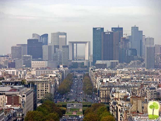 Большая арка Дефанс в Париже – современный вариант Триумфальной арки - 10