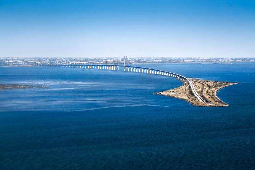 Эресуннский мост: самый необычный мост Европы, который уходит под воду