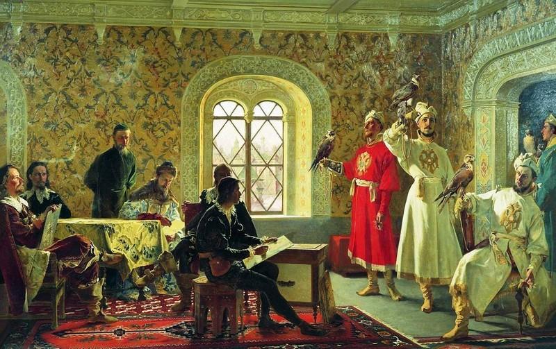 Иноземцы в России в XV–XVI веках
