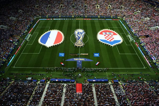 Финал Кубка мира по футболу - 2018 в Москве