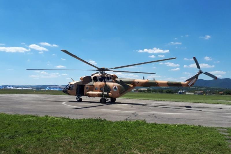 Конфликт вокруг ремонта в Словакии вертолетов Ми-17В-5 ВВС Афганистана