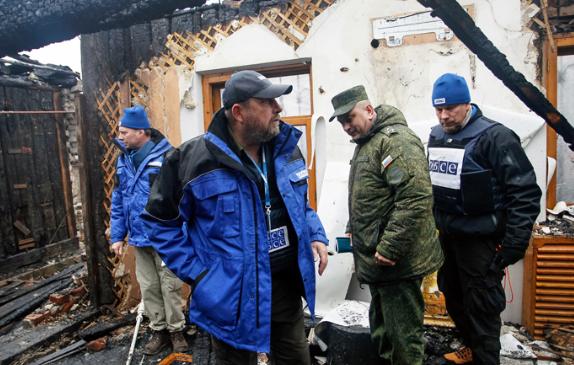 Миссия ОБСЕ заявила, что российской армии на Донбассе нет, но украинские политики этому не верят