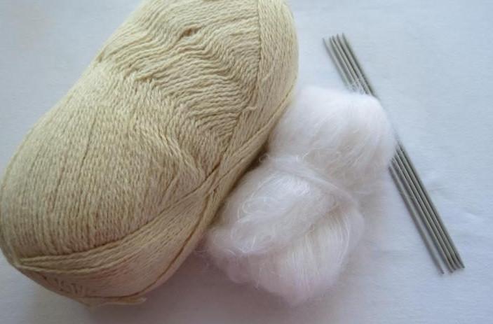 Вяжем шерстяные носки на 5 с…
