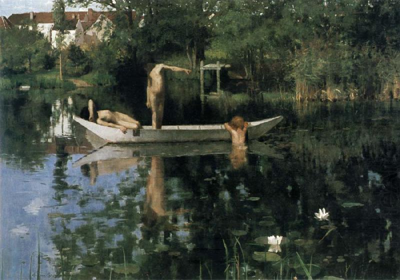 Как Англия прекрасна... Британский художник William Stott (1857-1900)