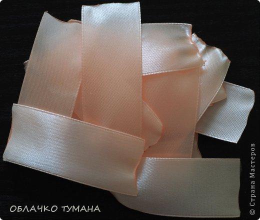 Мастер-класс Украшение Цумами Канзаши РОЗОЧКА КАНЗАШИ Ленты фото 2