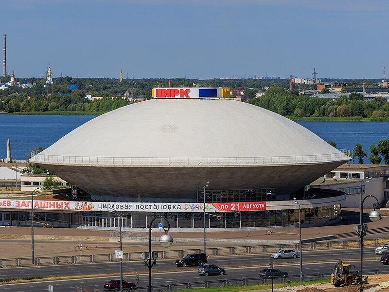 Здание казанского цирка