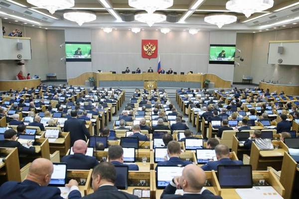 Госдума единогласно одобрила пенсионные поправки Путина