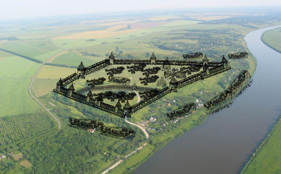 Городище «Старая Рязань» станет музеем под открытым небом