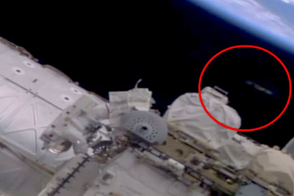 видео нло в космосе