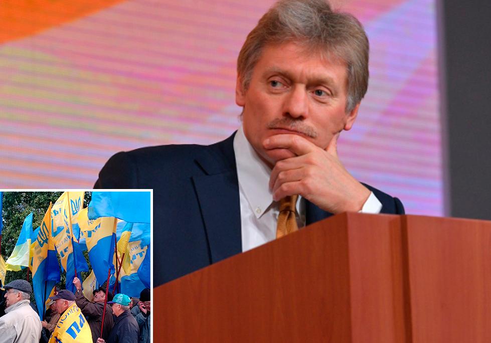 Песков о зеркальных мерах России на санкции Украины