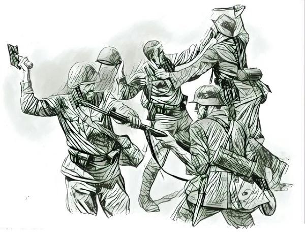 Моряков и шахтёров в плен не брать!