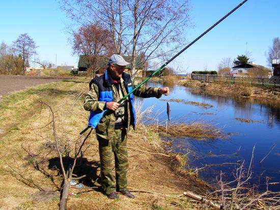 Интересные случаи на весенней рыбалке