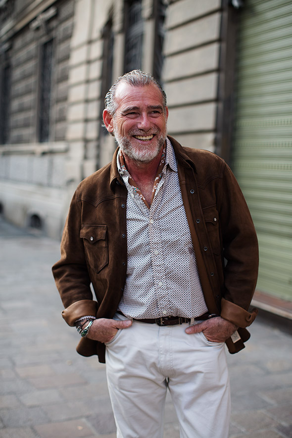 On the Street…Alessandro, Milan
