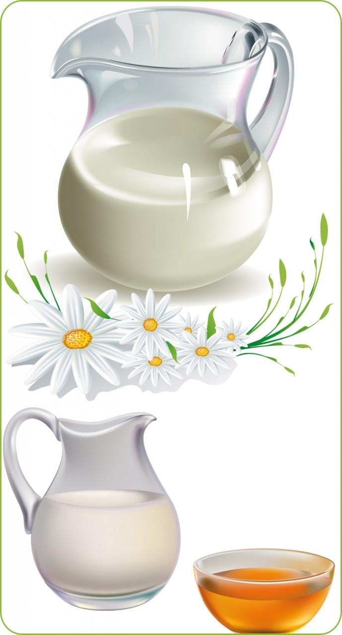 Молоко с медом - успех, красота и здоровье. Народные средства