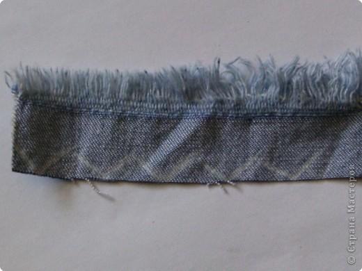 Мастер-класс Вырезание: Цветок из джинса №2+МК Ткань. Фото 3