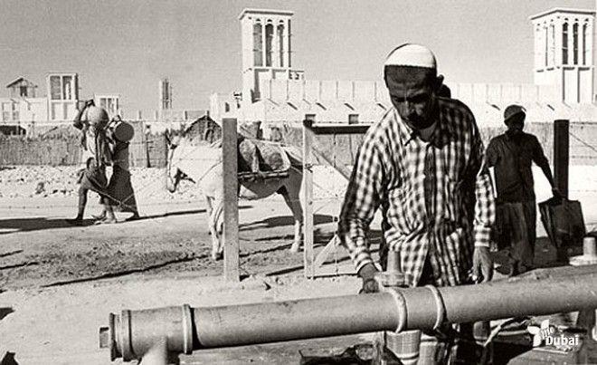 Водоснабжение в Дубае, 1960-е