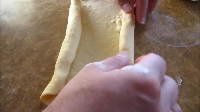 Хачапури по-аджарски. Рецепт который легко повторить еда, рецепт, видео рецепт, вкусно, хачапури, длиннопост, готовим дома, другая кухня, тесто, видео