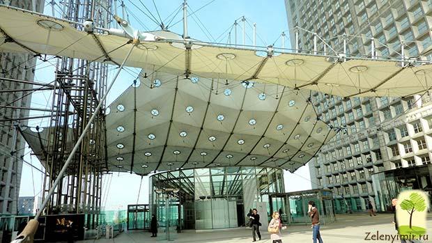 Большая арка Дефанс в Париже – современный вариант Триумфальной арки - 5