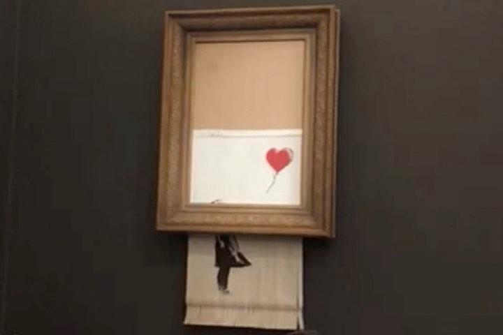 Покупатель самоуничтожившейся картины Бэнкси не станет отменять сделку