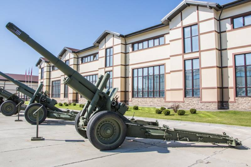 Артиллерия. Крупный калибр. 152-мм гаубица-пушка МЛ-20 образца 1937 года