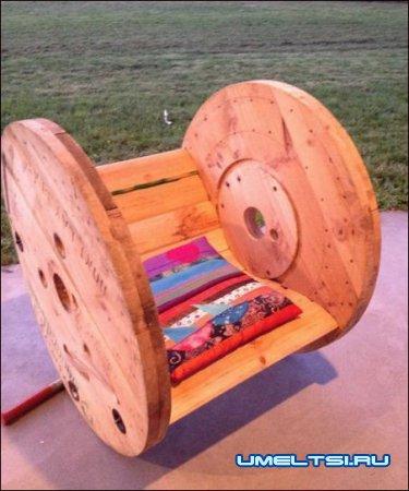 Садовое кресло-качалка