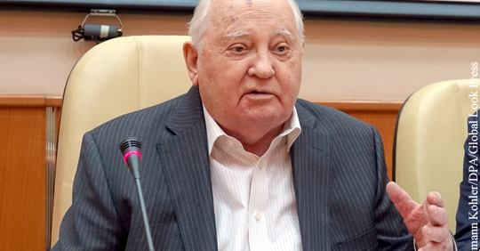 Горбачев удивился тому, что …