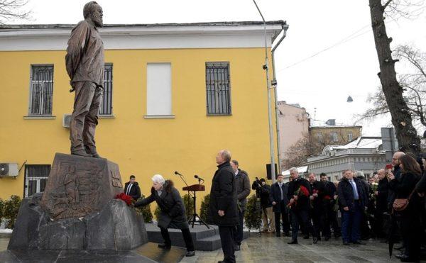Памятник Солженицыну – почем…