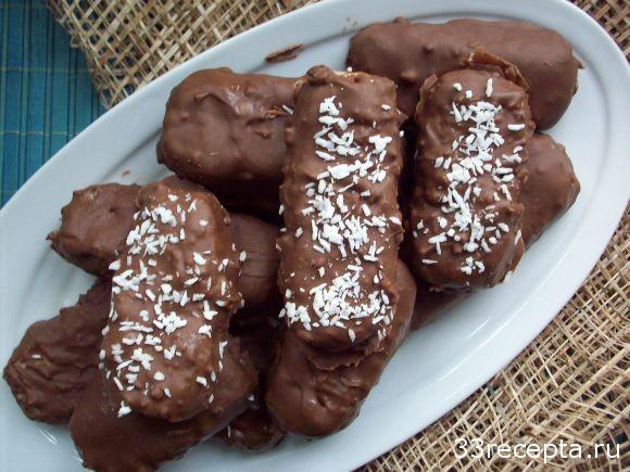 Рецепт конфет баунти в домашних условиях